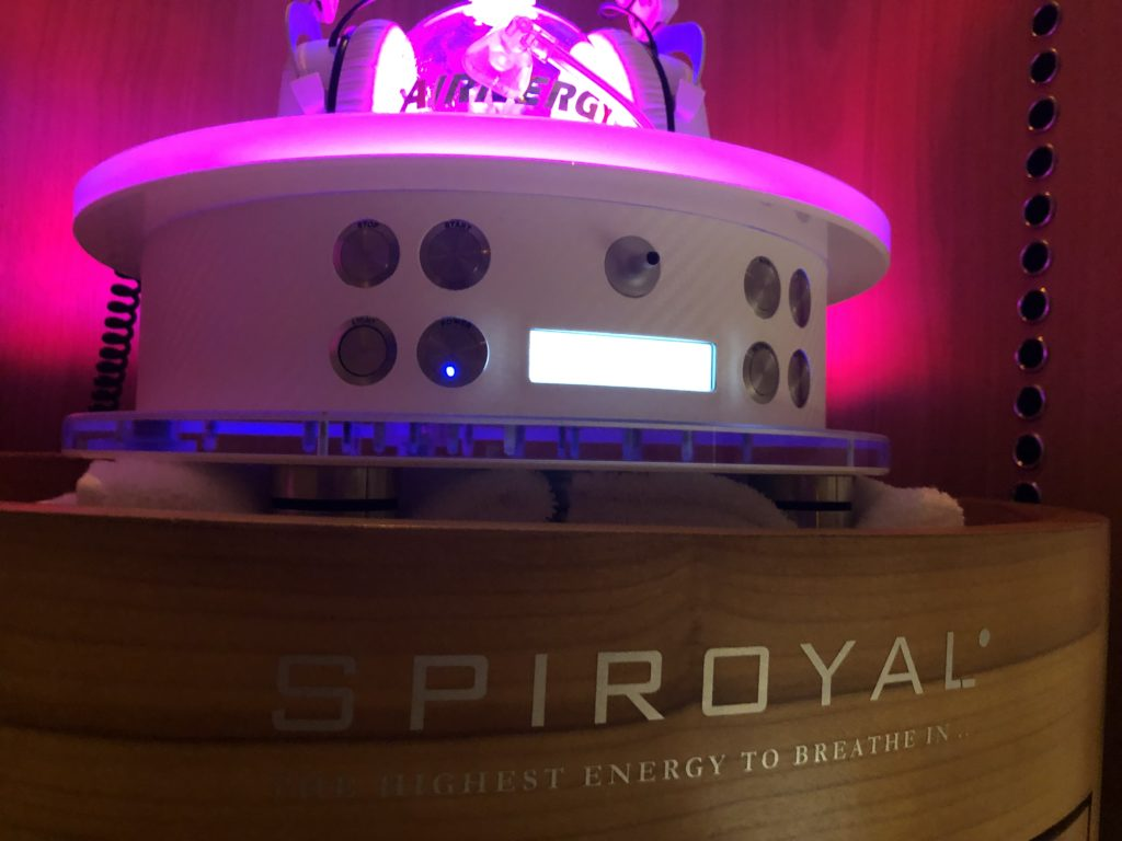 SPIROYAL_AvantGarde_Breathing_Device_Spa_Operation