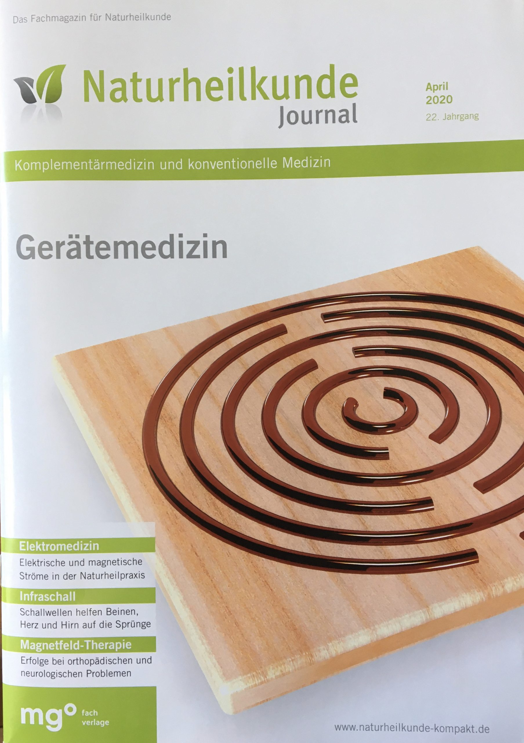 Naturheilkunde Journal im Mai 2020